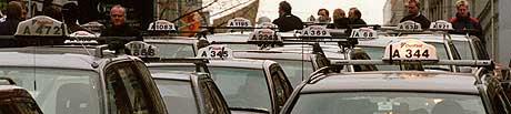 Norske drosjesjåfører må slutte i jobben når de fyller 70 år. Illustrasjonsfoto: SCANPIX