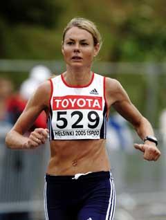 Kirsten Melkevik Otterbu løp inn til 28. plass. (Foto: Cornelius Poppe / SCANPIX)