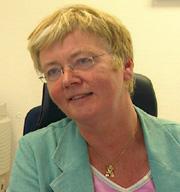 Dekan Inger Margrethe Holter. Foto: Harald Inderhaug, NRK.