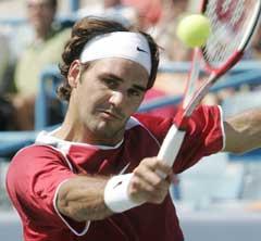 Roger Federer satser på nok en triumf i US Open (Foto: AP/Scanpix)