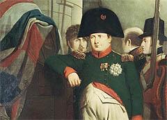 Carl Johan viste seg å være smartere enn Napoleon (illustrasjon). Foto: AP Photo / National Maritime Museum