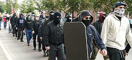 Sjølies tale ble holdt under Boot boys' Rudolf Hess-markering i Askim i 2000.