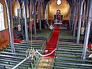 Inne i Lofotkatedralen.