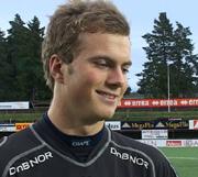 Keeper Kenneth Udjus i FK Tønsberg. Foto: Olav Døvik, NRK.