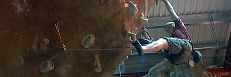 Magnus Midtbø vant junior-VM i klatring. Foto: NRK.