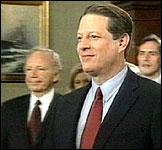 SLÅTT: Al Gore måtte til slutt gi opp mot Bush, men tok igjen til motmæle i dag.