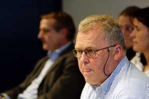 Saken mot den tidligere idrettspresidenten Kjell O. Kran kommer først opp senere. (Foto: Cornelius Poppe/Scanpix )
