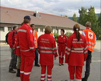 Det er lett etter den 17 år gamle heidølen uten resultat (Foto: NRK)