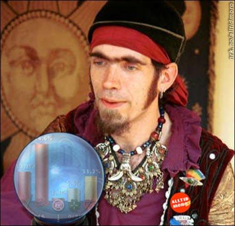 Fanterituz utvandret for noen år siden fra Ibiza og bor nå på Vinstra hvor han jobber aktivt som spåmann.