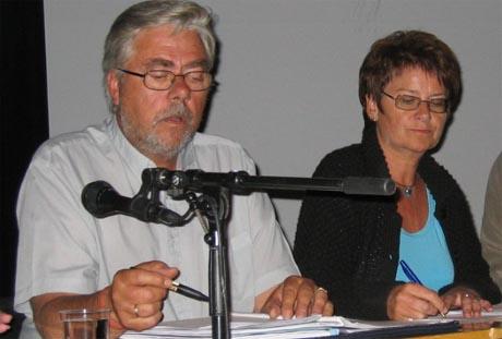 Sigvald Oppebøen Hansen (Ap) har fått plass i næringskomiteen, mens Kari Lise Holmberg (H) kommunal- og forvaltningskomiteen på Stortinget. Foto: Else Jorunn Saga, NRK.