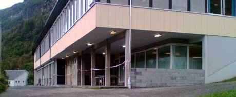 Røldal Skule. Foto: Alfred Leren