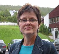 Ordfører Eva Tørhaug er glad for at oprydningsarbeidet nå er i gang. Foto: Joar Elgåen.