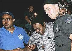 Fats Domino måtte evakuere hjembyen New Orleaens. Det samme må festivalen han har spilt så mange ganger på. Foto: Scanpix.