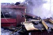 Renseanlegget brant ned i november