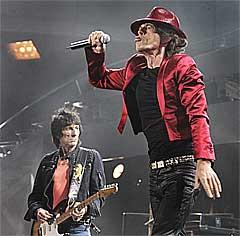 The Rolling Stones har også blitt boikottet av HMW. Foto: Scanpix.