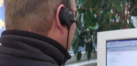 Det var svært få i Nord-Østerdal som ville jobbe i teleslagfirmaet First Call på Tynset. (Foto:Scanpix)