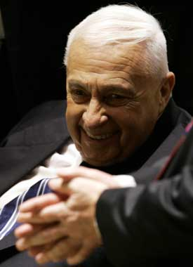 Ariel Sharon. Foto: Scanpix