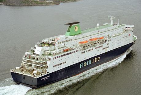 TFDS kvitter seg med aksjene i Fjord Line. (Foto: Fjord Line)