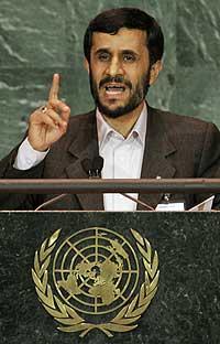 Irans president Mahmoud Ahmadinejad. (Foto: Scanpix/AP)