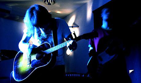The Slow Painters skal spille på Rock For Røkkla. Foto: The Slow Painters.