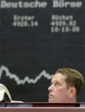 Den tyske børsen venter nervøst på at en ny regjering blir klar. (Foto: Oliver Stratmann/AFP/Scanpix)