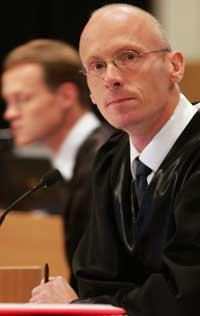 Statsadvokat Arild Dommersnes ser ikke på det som noe nederlag at NOKAS-saken ble utsatt med noen dager. (Foto: Alf Ove Hansen/Scanpix)