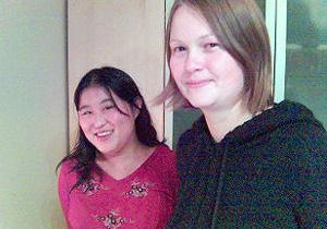 Anne Brenden og Siv Christine Jørstad. Foto: Anne Linn Ensby / NRK