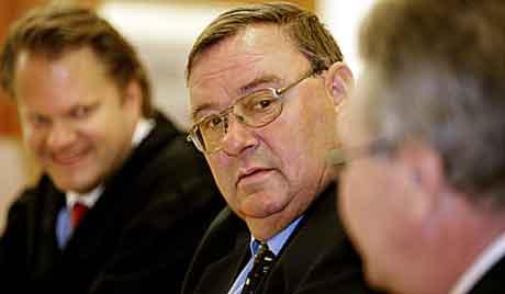 Rettssaken mot Torgeir Stensrud etter Finance Credit-kollpasen fortsatte i Oslo tingrett onsdag. Stensrud forklarte seg. Foto: Ørn E. Borgen / SCANPIX