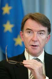Peter Mandelson (Scanpix/AP)