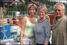 Hilde Hummelvoll er på besøk hos Elin og Terje som trenger hjelp til å kvitte seg med ting (Foto: Monster Entertainment AS)
