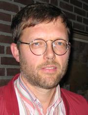 Lege Martin Haraldsen. Foto: Olav Døvik, NRK.
