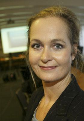 Pressetalskvinne i Utenriksdepartementet, Anne Lene Dale Sandsten. (Arkivfoto: Erik Johansen/Scanpix)