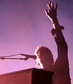 <b>På Austin City Limits:</b> Coldplay. Foto: Per Ole Hagen.