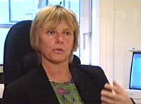 Redaktør Hilde Haugsgjerd i Dagsavisen (Arkivbilde)