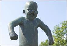Hold ut! Du må tåle at barnet ditt gråter. (Foto: SCANPIX)