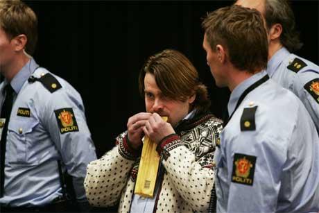 David Toska i Stavanger tingrett 19. september: Spiste en 200 grams melkesjokolade. (Foto: SCANPIX)