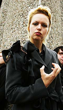- Vi brukte opp alle pengene våre på turné i USA med The Killers. Nå skal vi først ut og fullføre det vi har begynt på i Norge. Foto: Erlend Aas, Scanpix.