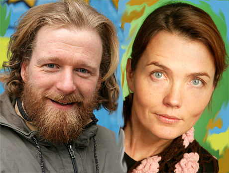 Ikke noe tema er for lite og ikke noe tema er for stort når Petter Schjerven og Kari Slaatsveen byr på Kveldsmat i NRK P1 på onsdagskveldene. (Foto: NRK)