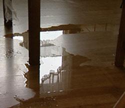 Vannskadene i leilighetene er omfattende. Foto Stig Carlo Helstrøm