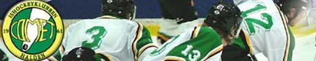 To poeng med fra første bonusrunde for Comet, da Oilers gjestet Halden ishall søndag. Foto: www.ikcomet.no