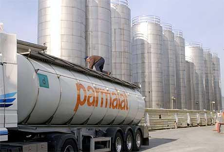 STØRST: Parmalat hadde store anlegg over hele Italia. Her fra Collecchio, nær hovedkvarteret Parma. Foto: AFP/Scanpix.