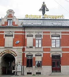 I det såkalet Vørterhuset på Schous Plass i Oslo kommer de nye øvingslokalene for hovedstaden. Foto: Ballade.no.