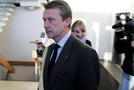 HÅPER PÅ BEDRE TIDER: Som et kompromiss legges mistilliten til administrerende direktør Knut Grøholt død, i forsøk på å få bedriften på bedre internt spor. Foto: Ørn Borgen/Scanpix.