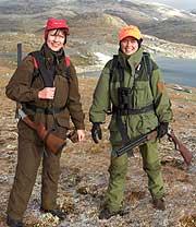 Grete Mikaelsen og Kristin Halvorsen