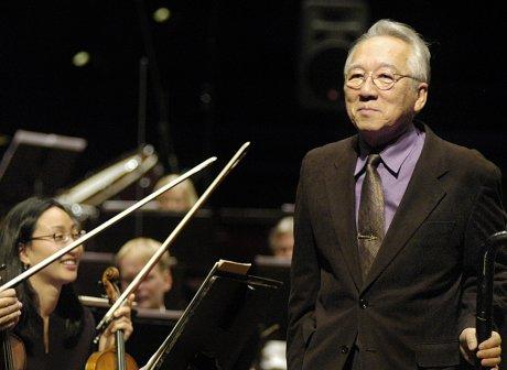 Komponisten Joji Yuasa ble godt mottatt ved åpningskonserten