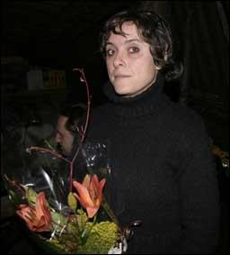 Katrine Sele fekk presseprisen. Foto Hilde Genberg, NJ.