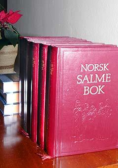 Norsk Salmebok kan få et noe annet innhold i framtiden enn i dag. Foto: Scanpix.
