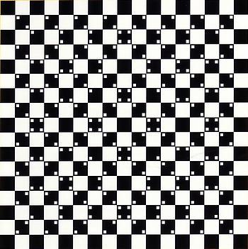 Legg ikke dominobrikker på sjakkbrett, da kan det bli bulkete og rart. Eller? Fra Optiske illusjoner til å bli gal av