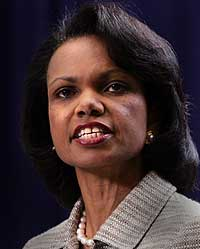 Condoleezza Rice blander seg for mye inn, mener valgkommisjonen (Scanpix)