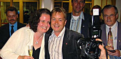 Sylvia Brustad og Knut Storberget begge hete navn til hver sin statsrådpost
